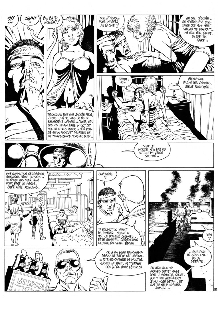 Guérineau : XIII Mystery tome 5 planche 32
