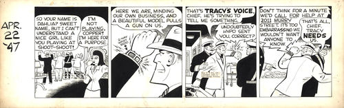 Chester Gould : Dick Tracy, strip de 1947