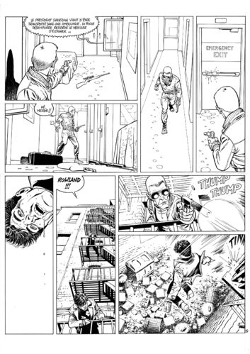Guérineau : XIII Mystery tome 5 planche 51