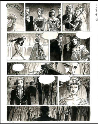 "Castaza : Contes des Hautes Terres ""The 80 years night"" planche 11"