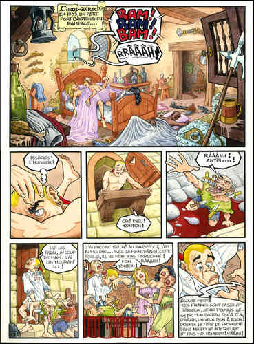 Pacheco Chico : Concours BD Fnac 91 planche 1