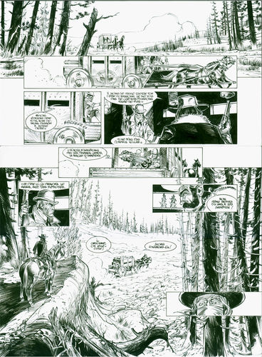 Damour : Pinkerton tome 1 planche 26