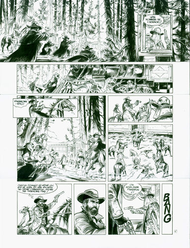 Damour : Pinkerton tome 2 planche 5