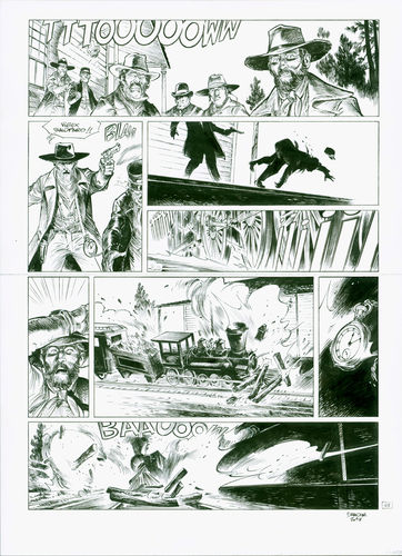Damour : Pinkerton tome 2 planche 43