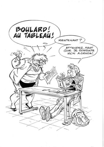 Pica : Les Profs illustration Boulard