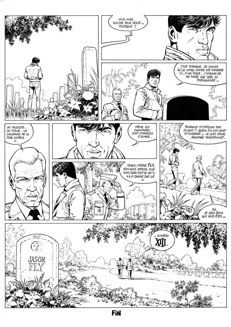 Guérineau : XIII Mystery tome 5 planche 54