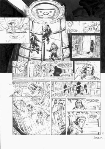 Damour : Nash tome 10 planche 6