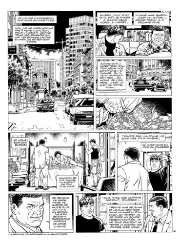 Vallée : Gil St André tome 8 planche 36