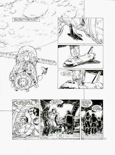 Damour : Nash tome 10 planche 5