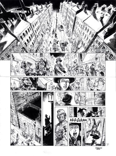 Damour : Pinkerton tome 4 planche 1