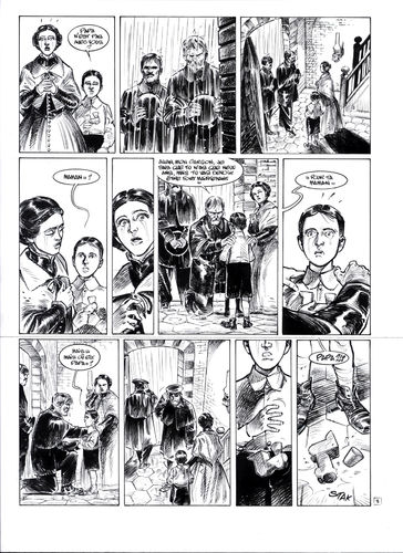 Damour : Pinkerton tome 4 planche 3