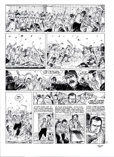 Damour : Pinkerton tome 4 planche 8