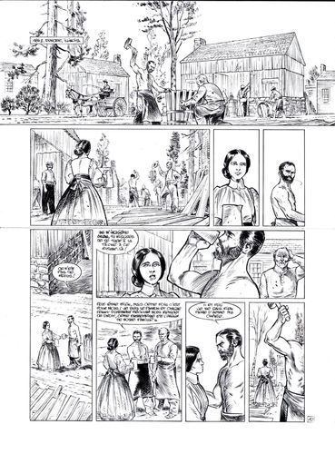 Damour : Pinkerton tome 4 planche 10