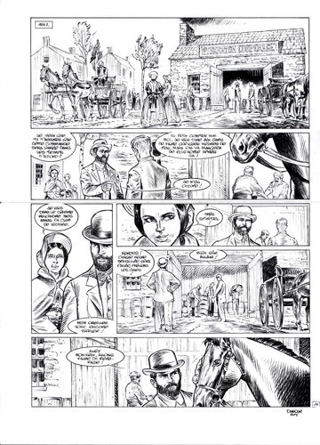 Damour : Pinkerton tome 4 planche 11