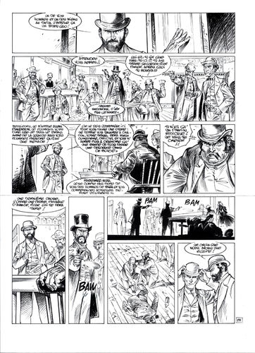 Damour : Pinkerton tome 4 planche 23