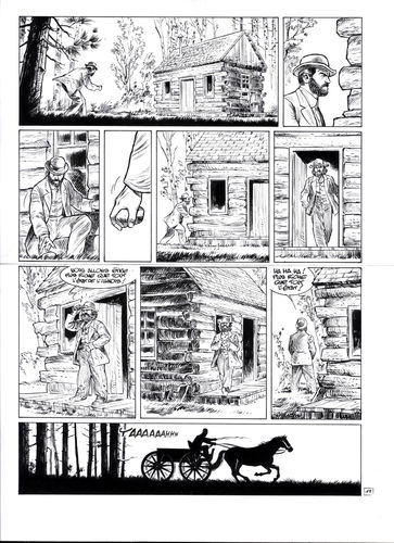 Damour : Pinkerton tome 4 planche 13