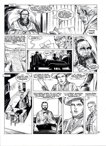Damour : Pinkerton tome 4 planche 24