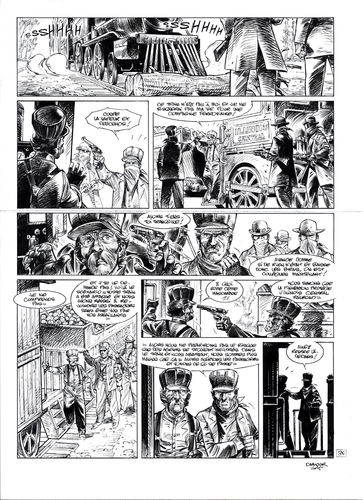 Damour : Pinkerton tome 4 planche 35