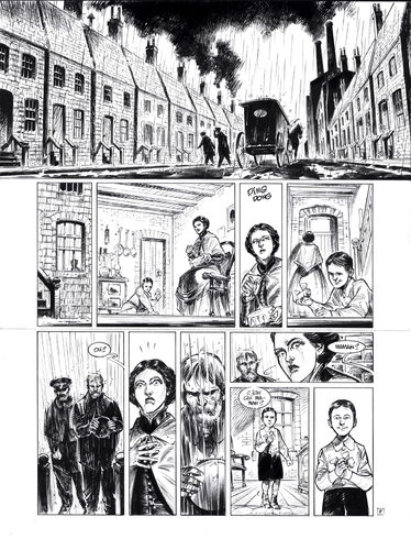 Damour : Pinkerton tome 4 planche 2