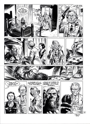 Damour : Pinkerton tome 4 planche 43
