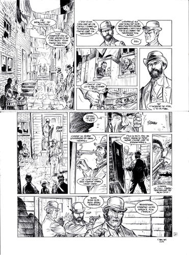 Damour : Pinkerton tome 4 planche 21