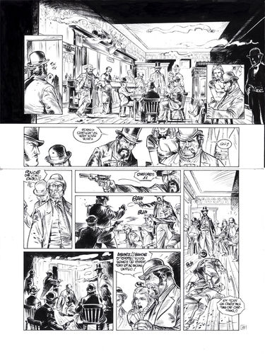 Damour : Pinkerton tome 4 planche 22