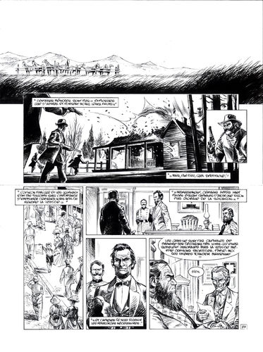 Damour : Pinkerton tome 4 planche 27