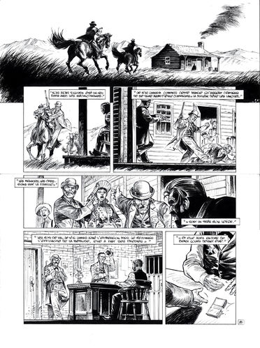 Damour : Pinkerton tome 4 planche 26
