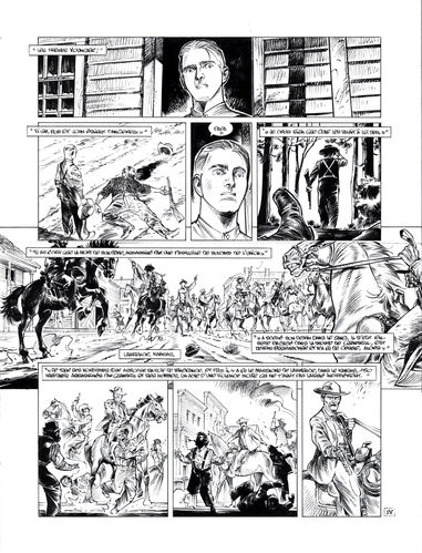 Damour : Pinkerton tome 4 planche 28