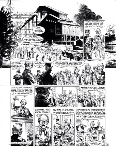 Damour : Pinkerton tome 4 planche 30