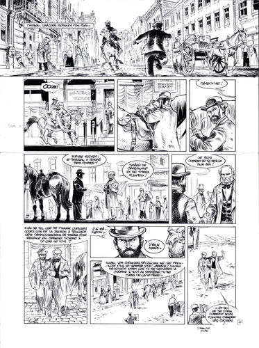 Damour : Pinkerton tome 4 planche 16