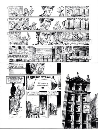 Damour : Pinkerton tome 4 planche 46