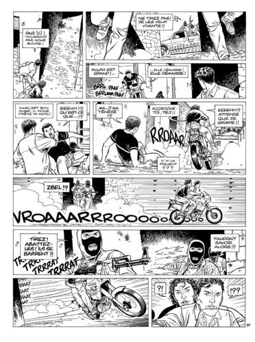 Vallée : Gil St André tome 7 planche 37