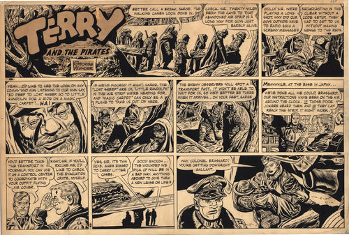 Wunder : Terry and the Pirates, Sunday Page (1951)