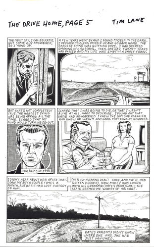 "Tim Lane : ""The Drive Home"" (Retour à la maison) planche 5"