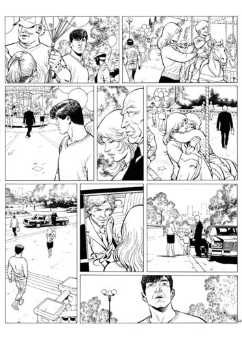 Guérineau : XIII Mystery tome 5 planche 43