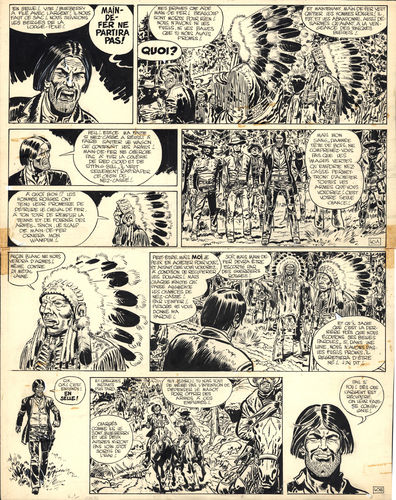 Giraud : Blueberry tome 8 planche 40